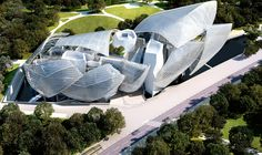 The Fondation Louis Vuitton Designed By Frank Gehry