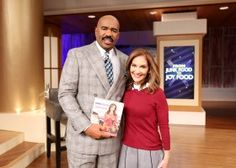 """Nutritionist JOY BAUER, author of """"From Junk Food to Joy Food,"""" joined Steve with secrets to eating the foods you love, without the guilt! You won't want to miss Joy's tips on how to make healthy versions of your favorite junk foods, like eggs..."""