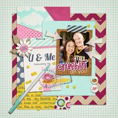 February 18th Template Tuesday Freebie by Scrapping with Liz at Scrap Orchard  February 2014: School Girl Crush by Cluster Queen Creations February 2014: School Girl Crush by Meredith Cardall