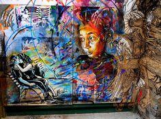 poertas: El arte del graffiti de Swoon