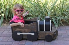 Wooden Train Photography Prop. $175.00, via Etsy.