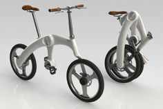 The Mando Footloose foldable electric bicycle, now at Twist 'n' Scoot. www.twistnscoot.com