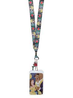 Disney Beauty And The Beast Lanyard.New Lanyard! Cute Disney Outfits, Disney Fun, Disney Style, Disney Trips, Disney Magic, Rapunzel, Disney Castle Tattoo, When Is My Birthday, Disney Lanyard