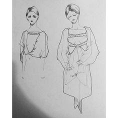 fashion design drawing illustration