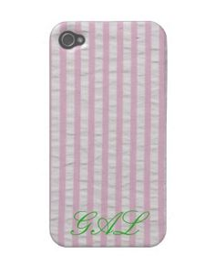 seersucker iPhone case... need this for spring
