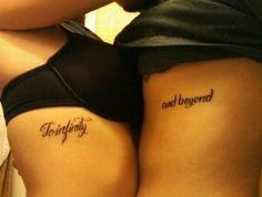 Tatuajes para parejas:Dos mitades