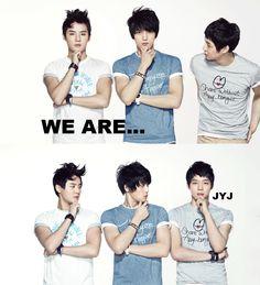 JYJ...  Jaejoong FIGHTING!!!  Yoocun FIGHTING!!!   Junsu FIGHTING!!!