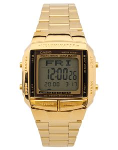 6595d5256ce Vintage Casio gold watch Casio Gold Watch