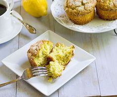 Ricotta Lemon Poppy Muffins