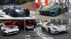 Supercars Hunters Best Spot 2017: Batmobile, Agera R, 599xx, Huayra BC, ...