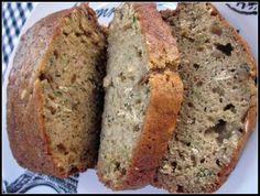 Healthy Zucchini Bread  http://www.homeroad.net/2011/08/healthy-zucchini-bread.html