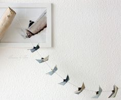 ~ paper boat garlands {customised, too}