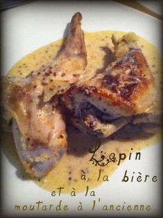 It was a long time since I had not cooked rabbit, this recipe seen at CHAUDRONNETTE, made me want to cook it. This recipe is a treat thanks to its very nice flavor sauce: old mustard, cream and beer (without alcohol … Source Cooking With Beer, Fun Cooking, Look And Cook, Homebrew Recipes, Rabbit Food, My Best Recipe, French Food, Food For Thought, Bon Appetit