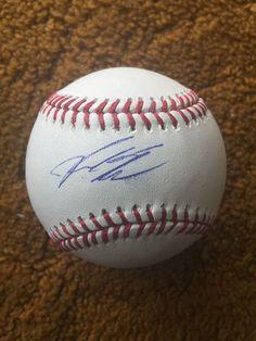 KYLE SCHWARBER AUTO OFFICIAL MLB SIGNED BASEBALL PSA/DNA CUBS