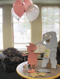 Elephant & Piggie Party decorations