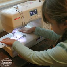 A Jennuine Life: Tiny Sewists: Teaching Kids to Sew :: Lesson 3