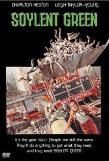 Soylent Green is a great old movie.  2022 isn't that far away.  Science fiction?  Give it a watch - http://video.google.com/videoplay?docid=1296155071179146825#