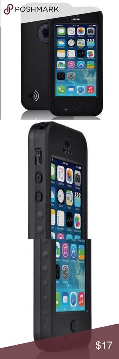 New Black Apple iPhone 5C Waterproof Case New Black Apple iPhone 5C Waterproof Protective Case. Apple Accessories Phone Cases
