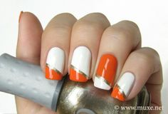 Pretty and easy nail art