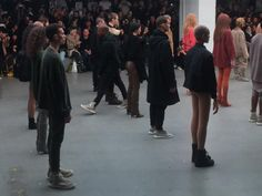 A firsthand review of the Kanye West x adidas fashion show.