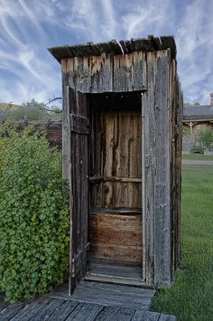 Ghost Town Outhouse - Montana Photograph  - Ghost Town Outhouse - Montana Fine Art Print