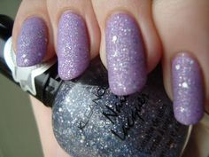 KleanColor What A Steal! over CoverGirl Purple Freeze, mattified *click for more*