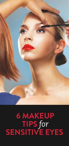 eye makeup & application tips for sensitive eyes #beauty #sensitiveskin