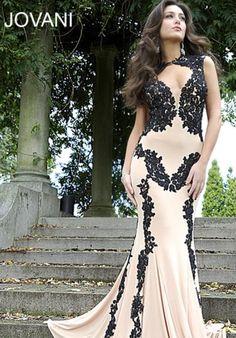 Jovani Sleeved Dress 89902