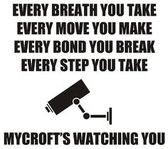 found this extra funny because these are the lyrics to every breath you take by the police lol :)