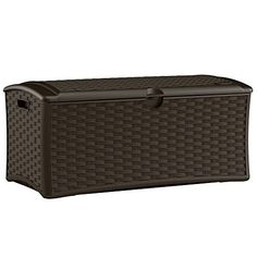 Resin Wicker Deck Box 72 Gal., Constructed with Weather-resistant Polypropylene Plastic Resin in Wicker Finish Suncast http://www.amazon.com/dp/B017A72JK4/ref=cm_sw_r_pi_dp_RoEYwb0F7C0SB