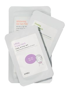 A'Pieu Lifting V-Line Patch South Korea popularized the sheet mask, including this one, which has the sole purpose of tightening the jawline.