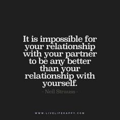 it is impossible for your relationship