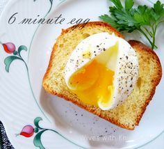 6 minute egg