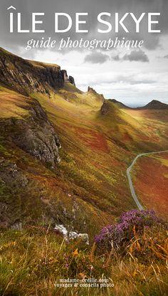 Skye, Écosse : les plus beaux spots photo ! - Train travels in the Worlds Skye Scotland, Scotland Travel, Ireland Travel, Scotland Trip, Island Of Skye, Ireland Places To Visit, Train Vacations, Train Tour, Western Coast