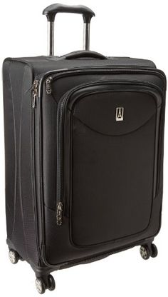 Travelpro Platinum Magna 25 Inch Expandable Spinner Suiter, Black, One Size on Sale