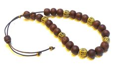 Handcrafted Greek Turkish worry beads of natural by FIPDesigns
