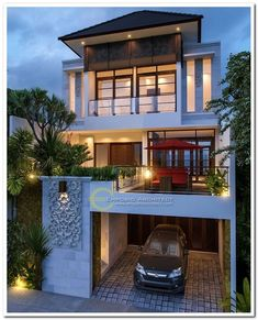 Best Modern Home Architectural Styles and Designs.Most people like several home architectural styles. Modern Exterior House Designs, Dream House Exterior, Modern Architecture House, Modern House Plans, Exterior Design, Architecture Design, Landscape Architecture, Architect Design House, Best Modern House Design