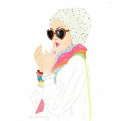 My sketches for today shared by Crown Illustration, Beauty Illustration, Illustration Sketches, Illustrations, Cute Girl Drawing, Woman Drawing, Merida, Beautiful Muslim Women, Beautiful Hijab