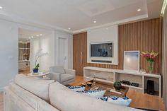 Apto NN_ 120m²: Salas de estar modernas por Carolina Kist Arquitetura & Design