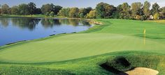 Crooked Stick Golf Club's 18th hole, host to the 2012 BMW Championship