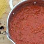 I'm totally into making my own spaghetti sauce. BEST EVER Homemade Italian Spaghetti Sauce Recipe