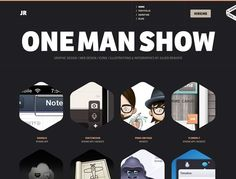 21 Inspiring Portfolio Websites -- When I get a website it will have a HIRE ME button. Love that.