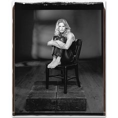 Kyra Sedgwick by Mary Ellen Mark.  Can go wrong with either the subject or the photographer.