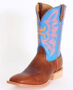 Hooey® Men's Cognac And Blue Boots