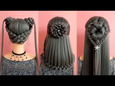 Top 26 Amazing Hair Transformations - Beautiful Hairstyles Compilation 2018 HAIR Tutorial: how to do quick & easy, side bun hairstyles for everyday, prom & w. Side Bun Hairstyles, Everyday Hairstyles, Trendy Hairstyles, Beautiful Hairstyles, Quick Easy Hairstyles, Updo Side, Hairstyles 2018, Pinterest Hair, Prom Hair