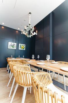 U2022Garb Monaque Restaurant Osaka, Japanu2022Cyborg Armchair Design By Marcel  Wandersu2022Project