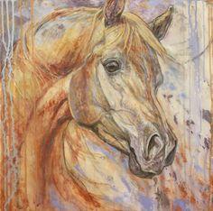 by Silvana Gabudean title: Purple Dawn Arabian This is an amazing artist!!!!  Love her work...