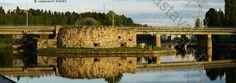 Lämmin ilta raunioilla.  Kajaanin linna on 1600-luvulla harmaakivestä rakennettu, raunioitunut linnoitus Ämmä- ja Koivukoskien välissä olevalla saarella Kajaaninjoessa Kajaanin kaupungin keskustassa. Linnan rakennustyöt aloitti Kaarle IX 1604.