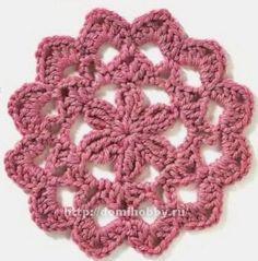 Мотивы для вязания крючком crochet motif