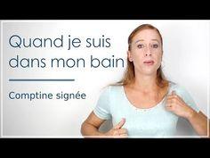 3 petits ours à la rivière: comptine en langue des signes bébé - YouTube